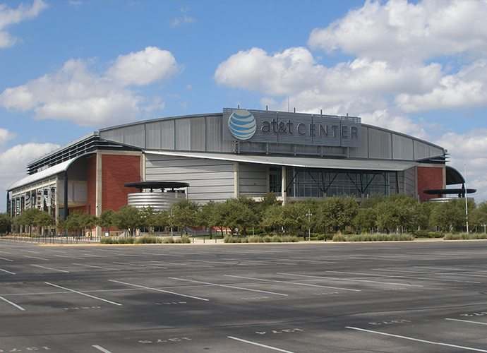 AT&T Center - Parking