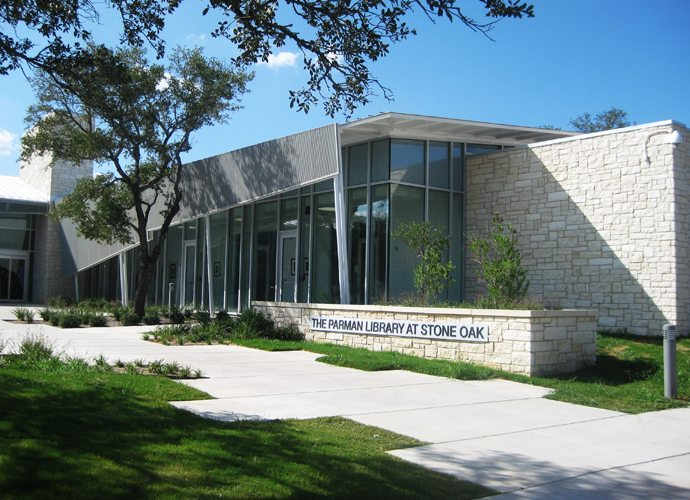 Parman Library at Stone Oak, San Antonio, TX