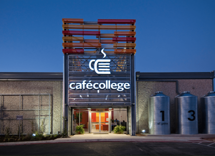CAFÉ COLLEGE in San Antonio Texas